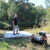 Raft and platform